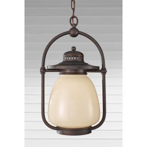 Feiss FEI OLPL7411GBZ Mc Coy 1   Light Outdoor Lantern