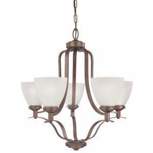 Thomas Lighting THO SL810523 Hampshire Chandelier Colonial Bronze 5x