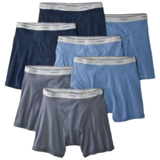 Fruit of the Loom Men 7pack Boxer Brief   Assorted Colors L