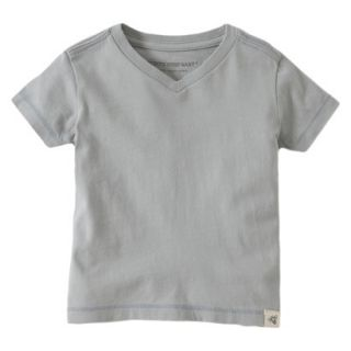 Burts Bees Baby Toddler Boys V Neck Tee   Fog 4T