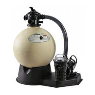 Pentair PNMT0022DO1160 Meteor Aboveground Sand Filter System, 1.5 HP 2.5 Sq. Ft Filter Area