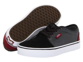 Vans Kids Chukka Low Boys Shoes (Black)