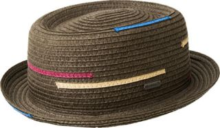Kangol Interrupted Stripe Pork Pie   Major Hats