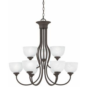 Thomas Lighting THO SL801663 Tahoe Chandelier Painted Bronze 9x60W