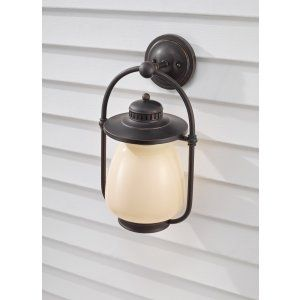 Feiss FEI OLPL7402GBZ Mc Coy 1   Light Outdoor Lantern