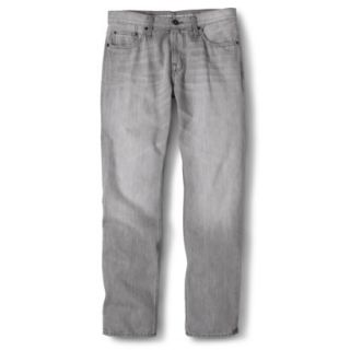 Mossimo Supply Co. Mens Slim Straight Fit Jeans   Gray 26X28