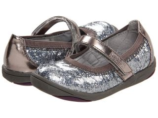 Kenneth Cole Reaction Kids Prize On By 2 Girls Shoes (Pewter)