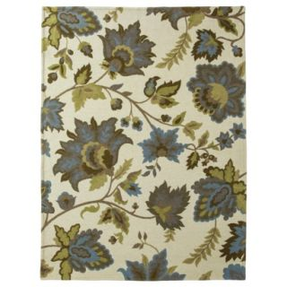 Threshold Cabana Floral Area Rug   Cream (7x10)
