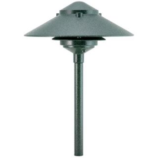 Focus Lighting AL0310ATV 12V 18W 10 Pagoda Hat Path Light Antique Verde