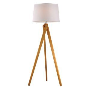 Dimond Lighting DMD D2469 Wooden Tripod Wooden Tripod Floor Lamp