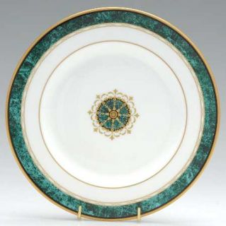 Lenox China Monument Green (Accent Plate) Accent Salad Plate, Fine China Dinnerw