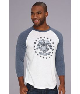 Lucky Brand Eagle Stars Mens T Shirt (White)