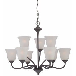 Thomas Lighting THO 190039763 Holly Chandelier Painted Bronze 9x60W