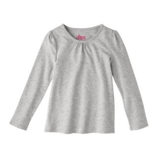 Circo Infant Toddler Girls Long sleeve Tee   Heather Grey 12 M