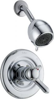 Delta T17230 17 Series Innovations Monitor ScaldGuard Shower Trim, w/ Volume Control Chrome