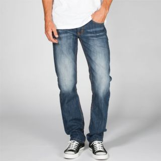 New York Mens Slim Straight Jeans Tornado Wash In Sizes 31X30, 38X30, 33X34