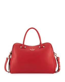 charles street audrey tote bag, deep blaze   kate spade new york