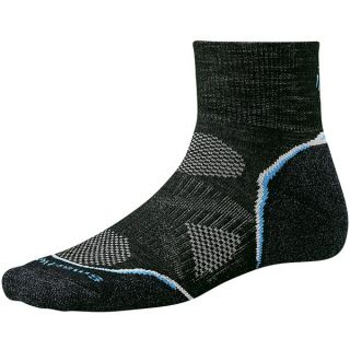 SmartWool PhD Cycle Mini Socks   Merino Wool  Lightweight (For Women)   BLACK (S )