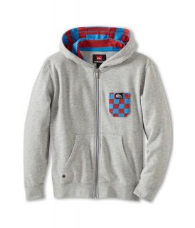 Quiksilver Kids Solana Checks Fleece Boys Fleece (Silver)