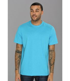 Hurley Staple Premium S/S Crew Mens Short Sleeve Pullover (Blue)