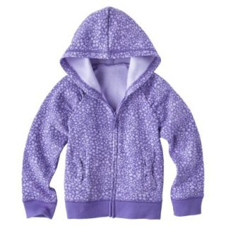 Circo Infant Toddler Girls Long sleeve Sweatshirt   Arpeggio Purple 18 M