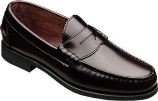 Mens Allen Edmonds Kenwood VIP   Burgundy Gentry Calf Leather Penny Loafers