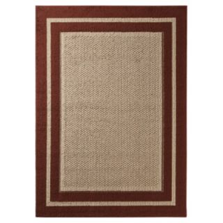 Mohawk Home Tufted Sisal Accent Rug   Red (18x26)