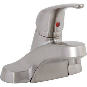 Premier Faucets 106168 Westlake Single Handle Lavatory Faucet with Brass Pop Up
