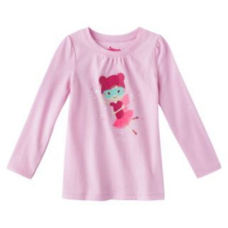 Circo Infant Toddler Girls Long sleeve Tee Shirt   Fresh Bloom 12 M