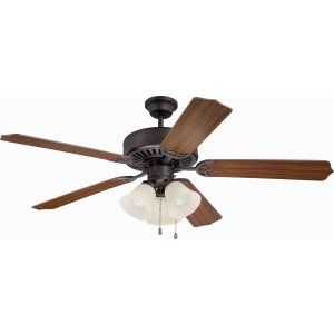 Ellington Fans ELF E206ABZ Pro 206 52 Ceiling Fan Motor only with Integrated Li