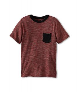 Quiksilver Kids Dog Pound S/S Knit Boys Short Sleeve Knit (Red)