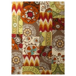 Threshold Suzani Patch Area Rug   7x10