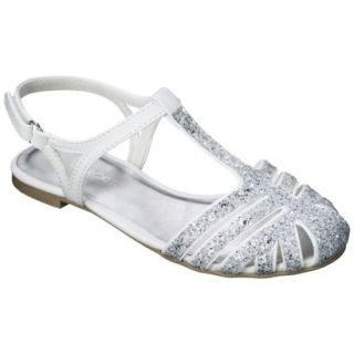 Girls Cherokee Fara Sandals   White 1