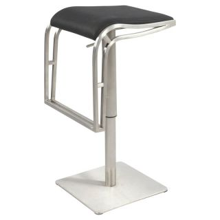Chintaly Elliot Backless Pneumatic Gas Lift Adjustable Height Swivel Bar Stool