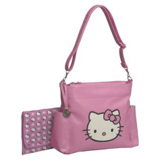 Hello Kitty Diaper Bag Tote   Pink