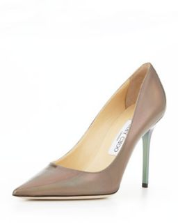 Womens Abel Point Toe Iridescent Pump, Multicolor   Jimmy Choo