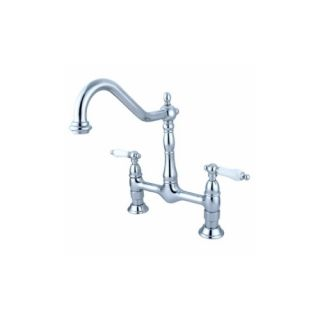 Elements of Design ES1171PL New Orleans Two Handle Kitchen Faucet