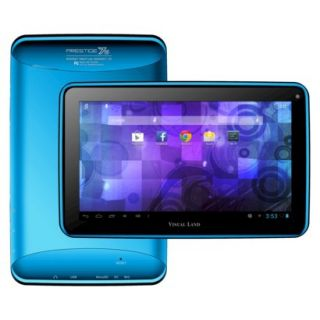 Visual Land Prestige 7G Android 4.1 Jelly Bean with Google Play 7 Tablet   Blue