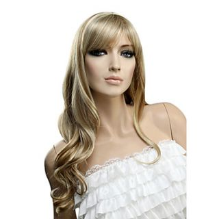 Capless Long Curly High Quality Synthetic Hair Wig