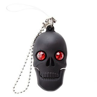4GB Shining Skull USB 2.0 Flash Drive