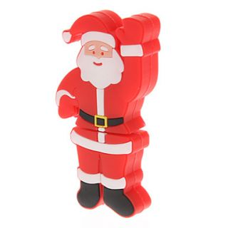 Plastic Santa Claus Model USB 16GB