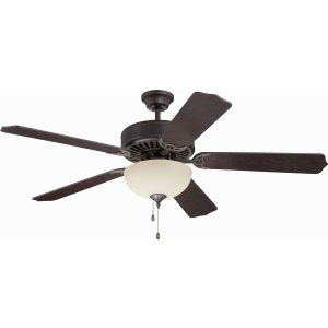 Ellington Fans ELF E202AG Pro 202 52 Ceiling Fan Motor only with Optional Light
