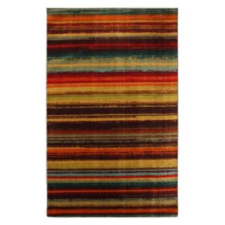 Mohawk Home Boho Stripe Area Rug   5x8