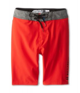 Billabong Kids Habits Boardshort Boys Swimwear (Red)