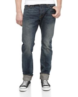 Relaxed Medium Wash Jeans, Jefferson