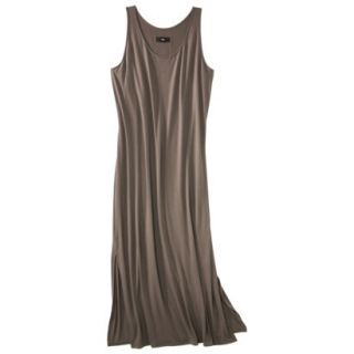 Mossimo Womens Plus Size Sleeveless V Neck Maxi Dress   Timber 1