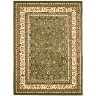 Lyndhurst Collection Sage/ivory Oriental Rug (9 X 12)