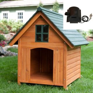 Boomer & George T Bone Dog House with Cooling Fan Multicolor   AKO012