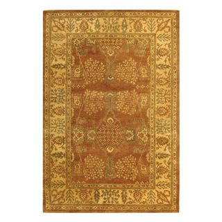 Safavieh Bergama BRG190A Area Rug   Light Brown/Beige   BRG190A 4, 4 x 6 ft.