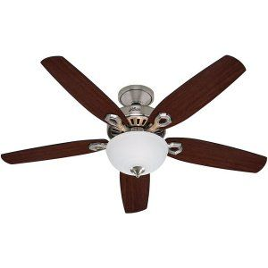 Hunter HUF 53090 Builder Deluxe Builder Ceiling Fan with light